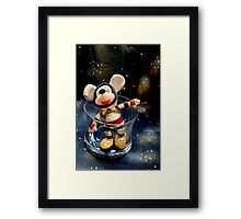 Lost In Space Mickey - Found Again Framed Print