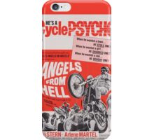 Angels from Hell (Red) iPhone Case/Skin