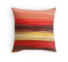 Flame Road 3 Throw Pillow