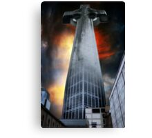 Corporate Religion Canvas Print