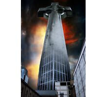 Corporate Religion Photographic Print