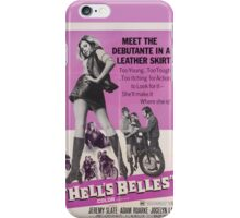 Hell's Belles (Pink) iPhone Case/Skin