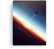 Into Space Canvas Print
