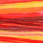 Flame Road 1 by Bernadette  Smith
