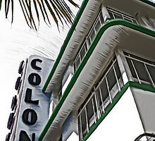 Colony Hotel, Miami by David Thompson