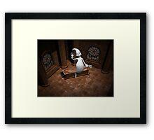 casper? Framed Print