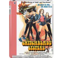 Switchblade Sisters Alt 1 (Pink) iPad Case/Skin