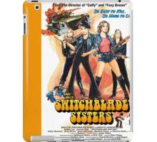 Switchblade Sisters Alt 1 (Orange) iPad Case/Skin