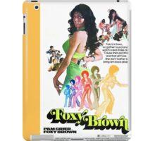 Foxy Brown Alt. (Yellow) iPad Case/Skin