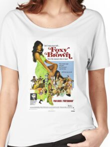 Foxy Brown (Green) Women's Relaxed Fit T-Shirt