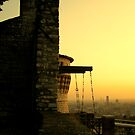 Sunset from the castle by annalisa bianchetti