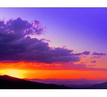 Rodeo Sunset Canton de Mora Costa Rica Photographic Print