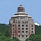 City Building, Asheville by David Thompson