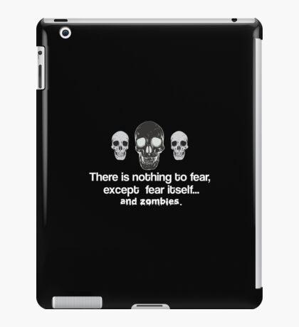 Fear Zombies iPad Case/Skin