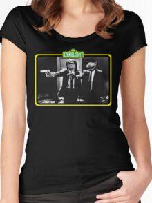Pulp Fiction Bert & Ernie Women's Fitted Scoop T-Shirt
