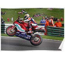 Shane Byrne 2008 British superbike champion Poster