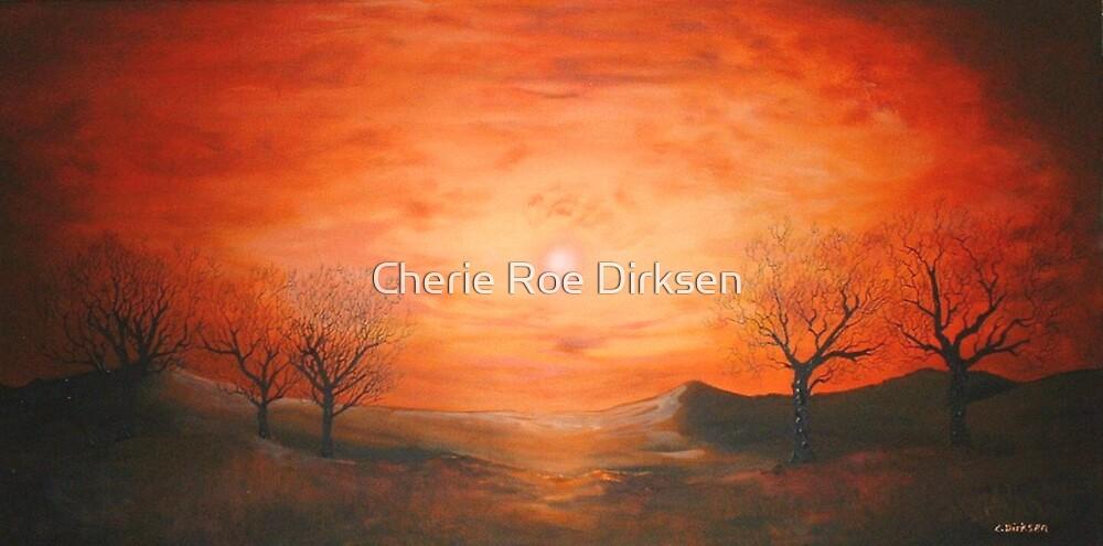 Red Dusk by Cherie Roe Dirksen