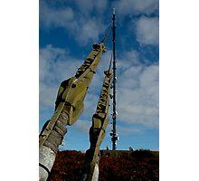 Caen Brea TV Mast Photographic Print