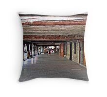"""A little piece of French History"" Throw Pillow"