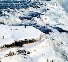 Iced Gullfoss #2 by Stefán Kristinsson