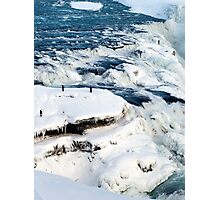 Iced Gullfoss #2 Photographic Print