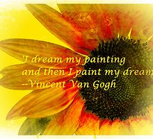 I Dream My Painting Vincent Van Gogh by Ian Mooney