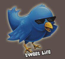 Tweet life Print by riotshieldtom