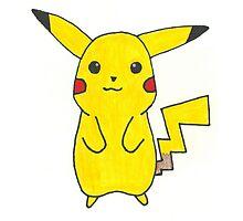Pikachu Drawing by dairyking42