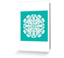 African Elephant ZOOFLAKE Greeting Card