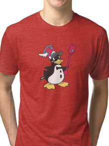 March of the Penguin! Tri-blend T-Shirt