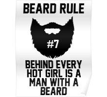 Beard Rule #7 Poster