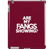 Are my fangs showing? iPad Case/Skin