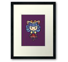 Lil' CutiE - Cha Cha Girl Framed Print