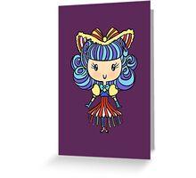 Lil' CutiE - Cha Cha Girl Greeting Card
