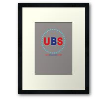 Union Broadcasting System  Framed Print