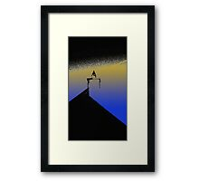 Chimney Shades Framed Print