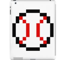 8 Bit Baseball iPad Case/Skin