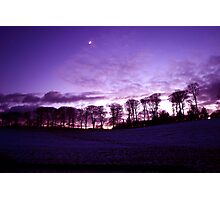 Lincolnshire Sunset Photographic Print