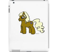 River Song pony iPad Case/Skin