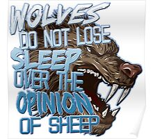 Wolves Opinion Poster