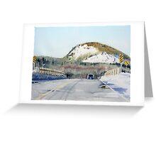 Bridge at Hays Lake Greeting Card