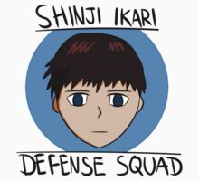 Shinji Ikari Defense Squad Kids Clothes
