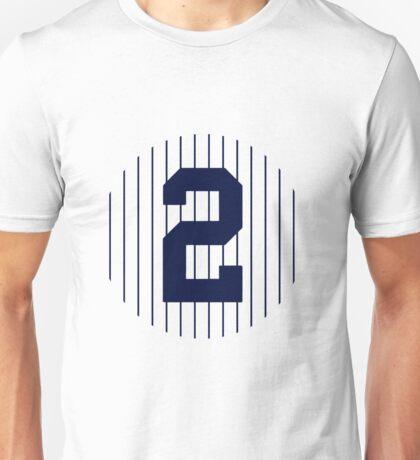 Derek Jeter #2 Unisex T-Shirt