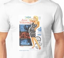 The Bellboy and the Playgirls (Blue) Unisex T-Shirt