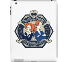 Scully & Bones Club iPad Case/Skin