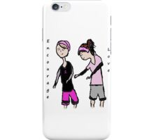 Breast Cancer Awareness Friends iPhone Case/Skin