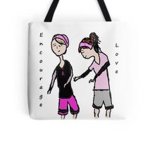 Breast Cancer Awareness Friends Tote Bag