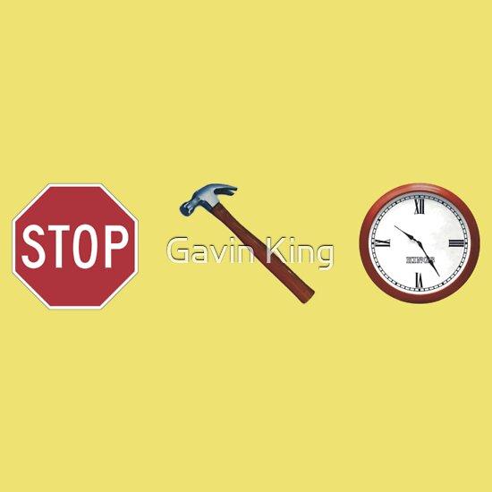 TShirtGifter presents: Stop! hammertime