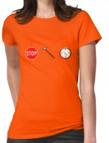 Stop! hammertime Womens Fitted T-Shirt