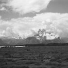 Clouds Over Tetons by Gordon Lukesh
